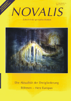 Titelblatt Novalis 09/1996